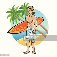 Sport,Blond Hair,Surfing,Mu...