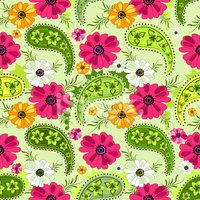 Paisley,Pink Color,Pattern,...