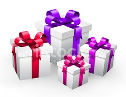 Gift,Box - Container,Bow,Gi...