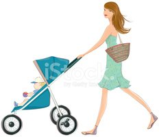 Mother,Baby Stroller,Baby,J...
