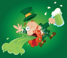 Leprechaun,Vomit,Illness,St...