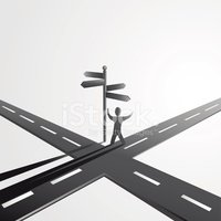 Road Intersection,Crossroad...