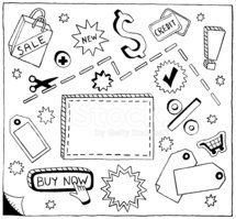 Doodle,Coupon,Sale,Shopping...