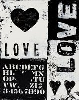 Love,Single Word,Text,Paint...