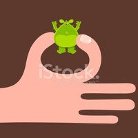 Human Hand,Small,Holding,Th...