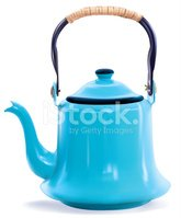Teapot,Coffee - Drink,Blue,...
