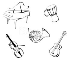 Piano,Violin,Guitar,Musical...