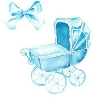 Baby Carriage,Clip Art,Draw...