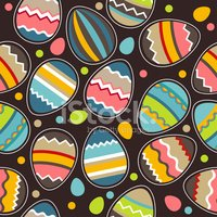 Easter,Pattern,Multi Colore...