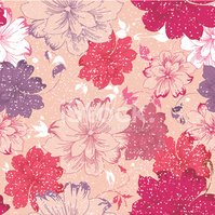 Pattern,Flower,Seamless,Flo...