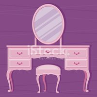 Dressing Table,Mirror,Furni...