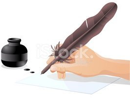 Writing,Pen,Ink,Quill Pen,H...