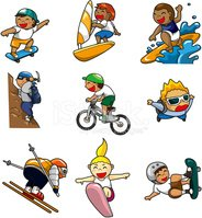 Bicycle,Skateboard,Cartoon,...