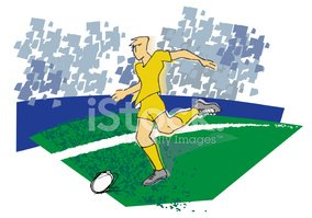 soccer football player runing