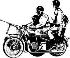 Motorcycle,War,Army Soldier...