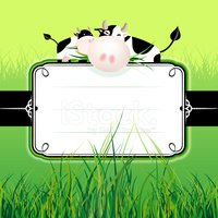 Cow,Farm,Frame,Invitation,S...