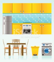 Domestic Kitchen,Furniture,...
