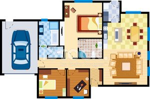 House,Home Interior,Bedroom...