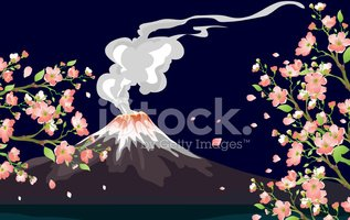 Volcano,Japanese Culture,Mt...
