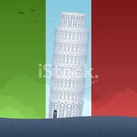 Italy,Pisa,Leaning Tower of...