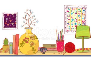 Vase,Shelf,Pen,Single Flowe...