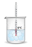 Water,Glass,Ice,Measuring,C...