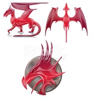 Dragon,Wing,Talon,Symbol,An...