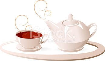 Tea - Hot Drink,Teapot,Tray...