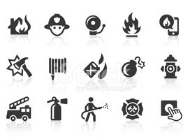 Fire Department icons