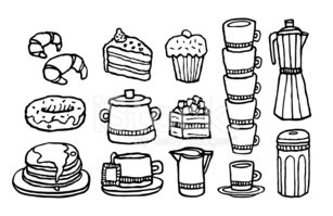 Cafe,Muffin,Coffee - Drink,...