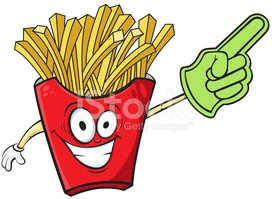 French Fries,Cartoon,Food,S...