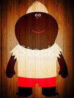 Cartoon,Ilustration,Wood - ...