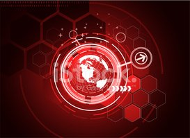Red,Globe - Man Made Object...