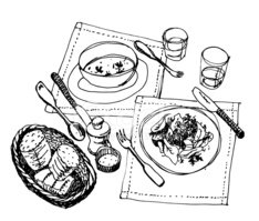 Drawing - Art Product,Plate...