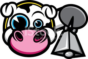 Cartoon Beef Cattle Clip Art - Neck - Animated Cows Transparent PNG