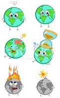 Earth,Ilustration,Global Wa...
