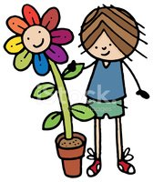 Cartoon,Single Flower,Flowe...