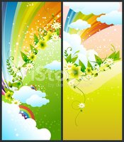 Banner,Colors,Rainbow,Vine,...