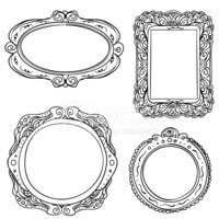 Picture Frame,Frame,Circle,...