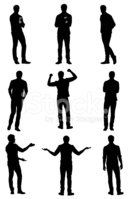 Silhouette,Male,People,Outl...