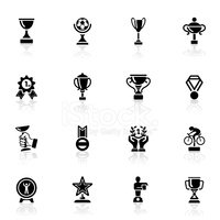 Trophy,Symbol,Winning,Award...