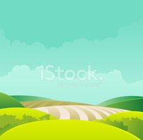 Landscape,Cartoon,Sky,Hedge...