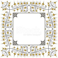 Frame,Medieval,Gothic Style...
