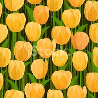 Tulip,Seamless,Flower,Patte...