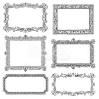 Frame,Picture Frame,Ornate,...