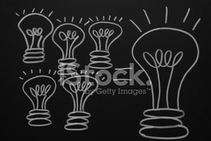 Handwriting,Light Bulb,Inno...