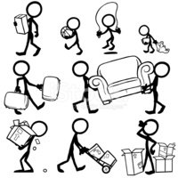Stick Figure,Mover,Physical...