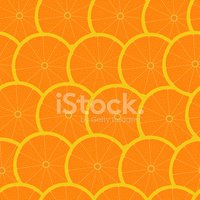 Grapefruit seamless background wallpaper