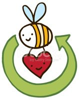 Bee,Animal,Recycling,Vector...