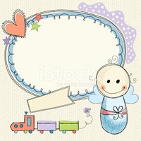 Baby,Frame,Birthday,Invitatio…